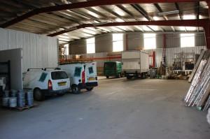 intérieur atelier