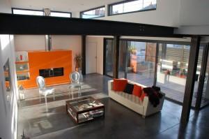 orange et acier
